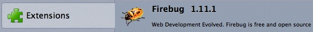 Firebug Extension