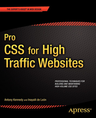 Pro CSS book cover