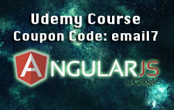 AngularJS course discount