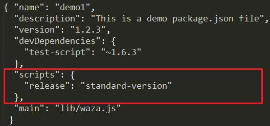 standard version install